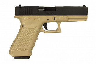 Пистолет WE Glock 18C Gen.4 TAN GGBB (GP617B (TAN)